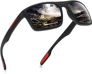 AOMASTE Polarized Sunglasses for Men Women Ultra Light TR90 Unbreakable Frame UV400 Protection TAC Lens for Driving Fishing