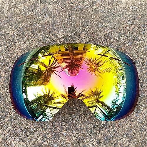 Monnadu Gafas de esquí – Gafas de snowboard – Lentes de protección de ojos – Lentes de doble capa a prueba de ceguera de nieve UV antivaho para escalada al aire