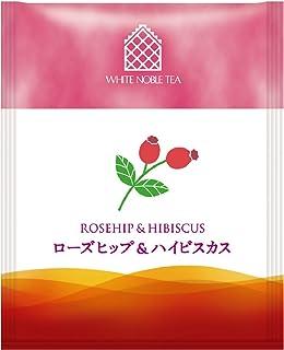 三井農林 ホワイトノーブル紅茶 ( アルミ・ティーバッグ ) ローズヒップ 2.0g×50個
