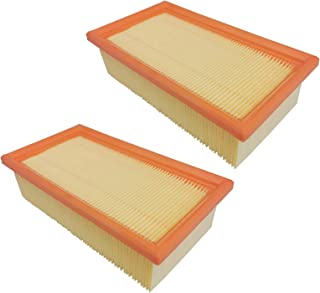Sponsored Ad – 2X Flat Pleated Filter, Main Filter Element Compatible with Festo/Festool 452065 452923 CT11, CT22E, CT 33...