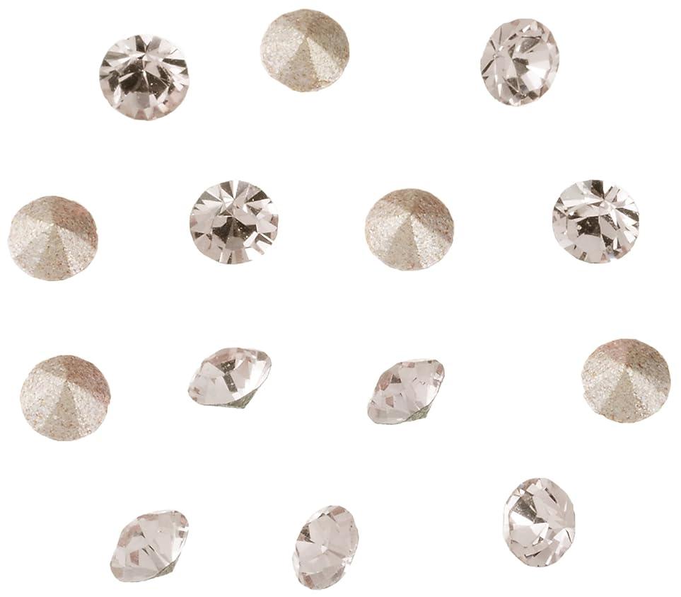 どこでもわがままパテネイルアートパーツ Vカットストーン クリスタル PP15   約2.1~2.2mm