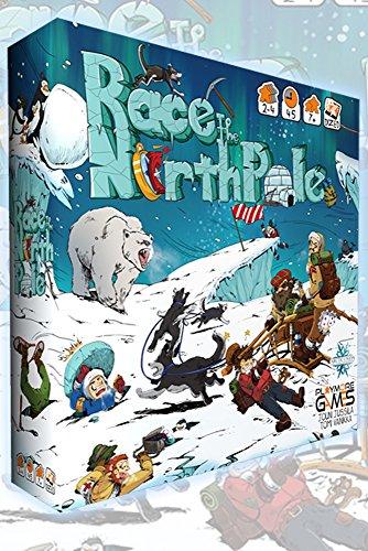 Playmore Games 08001 - Race to The North Pole, Brettspiel, Englisch/Deutsch