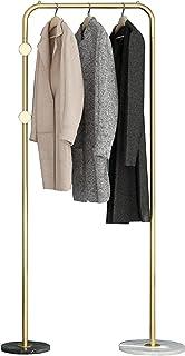 MissZZ Porte-vêtements Nordique Moderne Porte-vêtements en métal Salon Chambre Tige Simple Porte-vêtements Suspendus Base ...