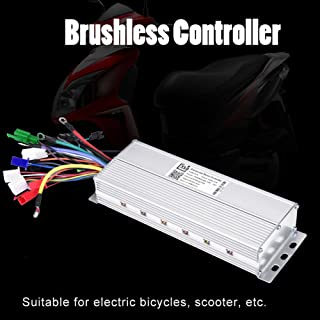 Tbest Electric Brushless Motor Controller,Pangding Brushless Controller,E-Bike Brushless Controller,60V 1500W Brushless Motor Controller for Electric Bicycle Scooter
