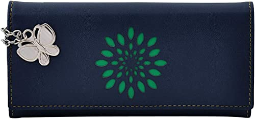 (Butterflies Women Wallet (Navy Blue) (BD BNS 2004NBL)