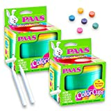 Paas Easter Egg Color Cups 2 Pack (Deluxe Egg Decorating Kit)