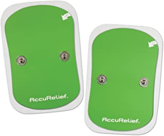 AccuRelief Wireless TENS Electrotherapy Pain Relief System Supply Kit (Packaging May Vary), Works with AccuRelief Wireless...