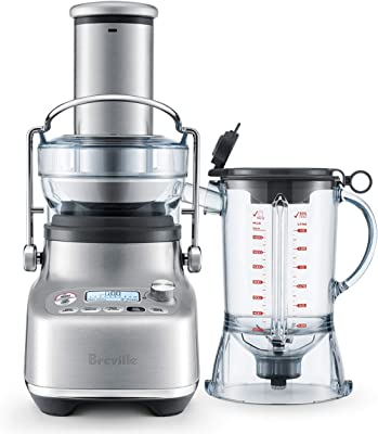 Breville BJB815BSS 3X Bluicer Pro, Brushed Stainless Steel