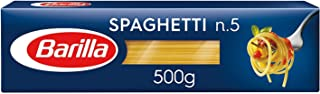 BARILLA Spaghetti N-5 Pasta, 500 g (Pack of 1)