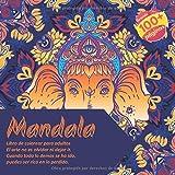 Libro de colorear para adultos Mandala - El arte no es olvidar ni dejar ir. Cuando todo lo demas se ha ido, puedes ser rico en lo perdido.