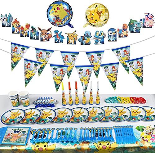 FGen Decoración de la Fiesta de cumpleaños Infantil, Pulsera de Silicona para la celebración de Fiestas para 10 Invitados (118 Piezas)