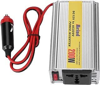 etc. Video Player Cellphone Sanpyl DC to AC Power Inverter inverts DC12V to AC220V to let 200W DC12V to AC220V Sine Wave DC to AC Power Inverter for Laptop