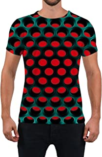 Alistyle Unisex Fashion 3D Print T-Shirts Funny Graphics Pattern Crewneck Short Sleeve Tees for Mens Womens