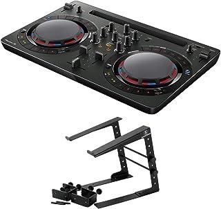 Pioneer DDJ-WEGO4-K black DJコントローラー Dicon Audio LPS-002 ラップトップスタンド 2点セット