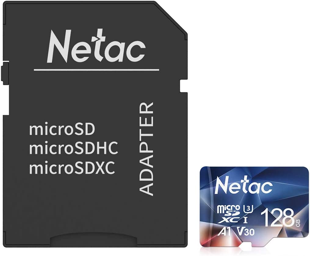 Netac Japan's largest assortment Micro SD Card 128GB SDXC 100MB Class10 UHS-1 S New sales A EXFAT V30
