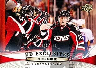 (CI) Bobby Butler Hockey Card 2011-12 Upper Deck (base) 71 Bobby Butler