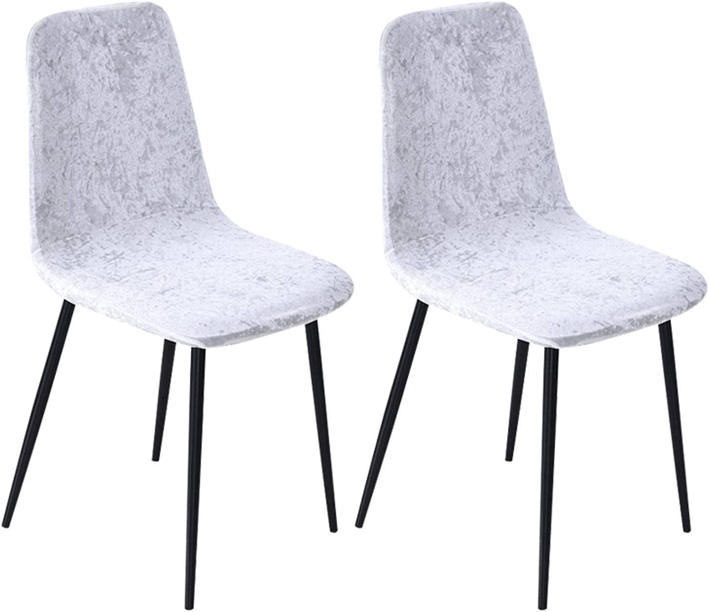 Max 68% OFF NUELLO Velvet Dining Chair Trust Covers Stretch for Dini