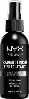 NYX PROFESSIONAL MAKEUP Radiant Finish Setting Spray, 03