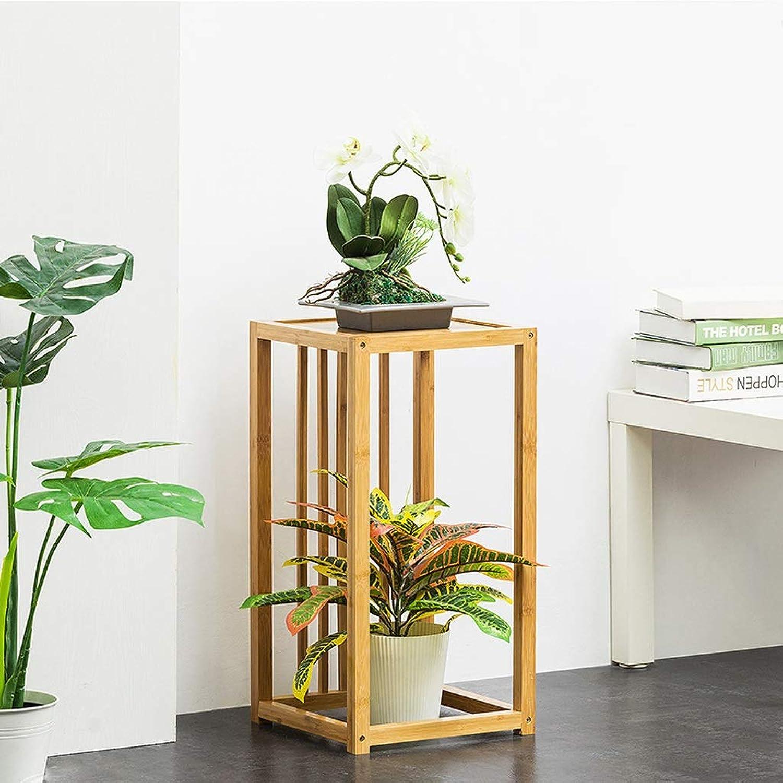SLH Indoor Balcony Flower Shelf Living Room Floor-Standing Storage Rack (Size   S)