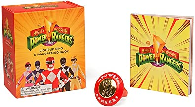Mighty Morphin Power Rangers Light-Up Ring and Illustrated Book (RP Minis)