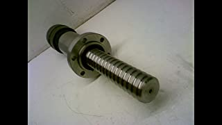Emcor E-18405 Ball Screw with Attached 45-62-8 Bearing E-18405 with Attached Part Number 45-62-8