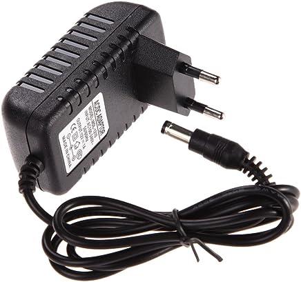 Asiproper Adaptador de Corriente alterna de 24V 5A a CC 5.5 2.5mm para la Correa Ligera del LED