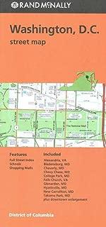Rand Mcnally Washington D.C. Street Map (Red Cover)