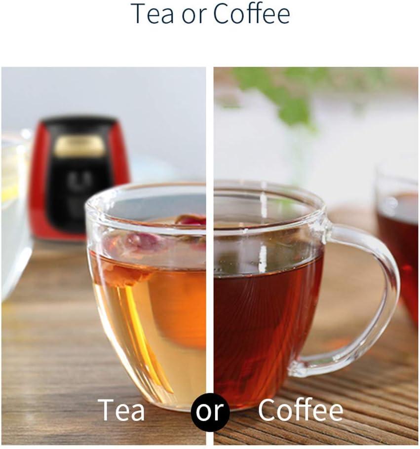 Full-automatische Huishoudelijke koffiezetapparaat met Double Cups Amerikaanse Koffiezetapparaat,Blue Orange