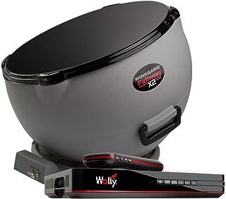 Winegard Pathway X2 PA6002R Satellite TV Antenna and DISH Wally Receiver Bundle (Dual..