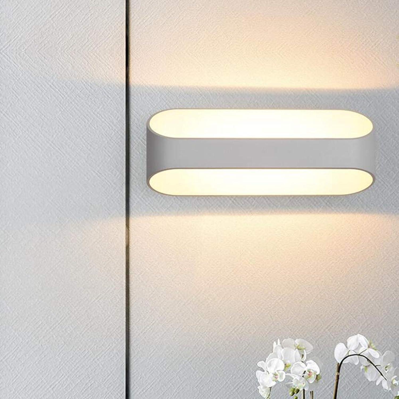 Laogg Wandleuchte LED Dimmbare Wandleuchten Minimalismus Geformte Wandleuchte für Schlafzimmer Nachttischlampe Flur Foyer Badezimmer Wandleuchte 250  100mm