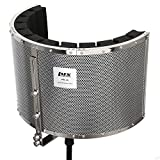 LyxPro VRI-20 Sound Absorbing Acoustic Foam Isolation Portable Microphone Shield, Vocal Recording...