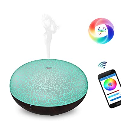 Tripsky Alexa Diffuser 300ml Smart Wi-Fi, Work ...