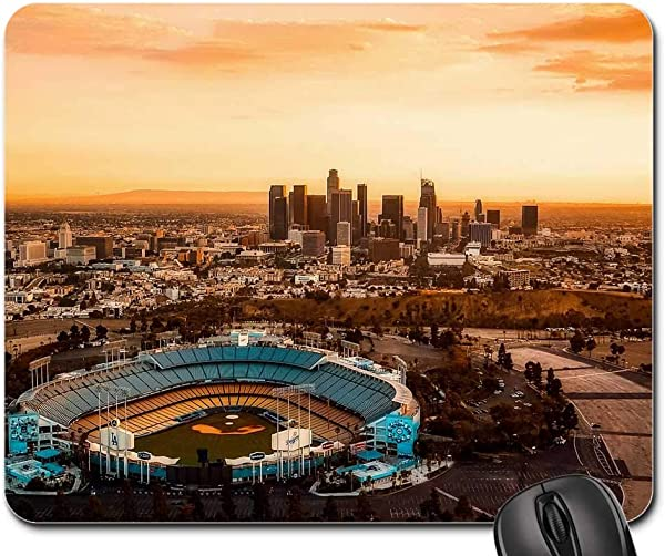 Mouse Pads Los Angeles California Dodger Stadium City Urban