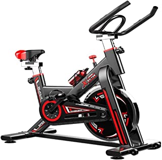 Home Spinning Bike Indoor Stationary Bike For Sports Aerobic Training Fitness Bike Speed Bike With Quiet Belt Drive Bicycl...