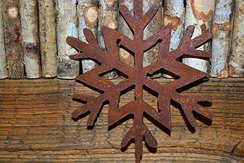 MHM flocon de neige décorative sur tige