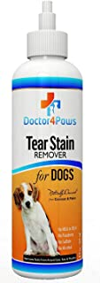 Doctor4Paws Premium Eye Tear Stain Remover for Dogs, Restore Those Cute Looks, Prevents Stains Around The Eyes and Mouth, Naturally Derived from Coconut and Palm