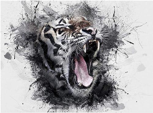 directo de fábrica XIGZI XIGZI XIGZI 5D Tiger Animals Picture DIY Pintura Diamante Punto de Cruz Bordado Decoración del Hogar Sin Marco  Ahorre 35% - 70% de descuento