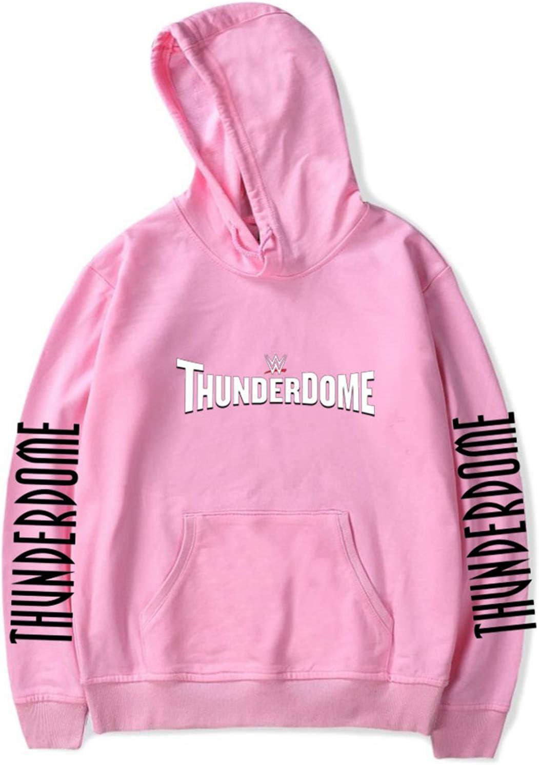 2XS-3XL CAFINI Sudadera con Capucha con Estampado de Texto Thunderdome Cool Sudadera Unisex Shin Harajuku Streetwear Sudadera Casual KPOP Hip-Hop Sweater