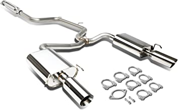 For Chevy Monte Carlo/Impala 3.8L 4 inches Dual Wall Slant Muffler Tip Catback Exhaust System
