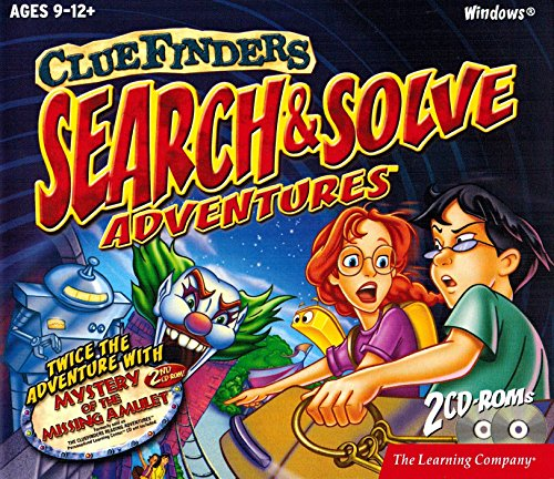 Price comparison product image The Learning Company - ClueFinders Search & Solve Adventures