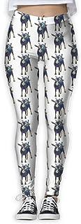 Eplus Women's Gertie The Goat Fitness Power Yoga Pants Full-Length Yoga Workout Leggings