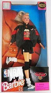 Barbie 1998 National Basketball Association NBA 12 Inch Tall Doll - Atlanta Hawks Barbie with Authentic NBA Team Uniform, ...