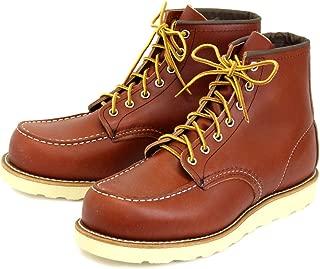 [レッドウィング] 8875 6inch CLASSIC MOC TOE ブーツ オロ・ラセット(赤茶)
