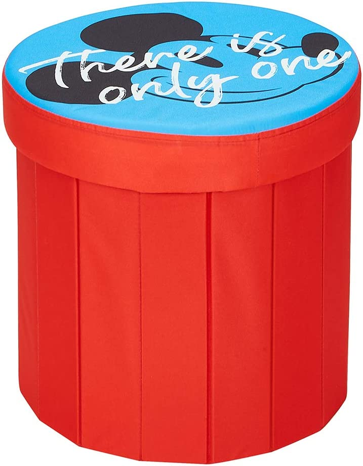 Fresh Home Elements Disney 2021 Micky Popular shop is the lowest price challenge Mouse ottoman Pouf 15 toy box