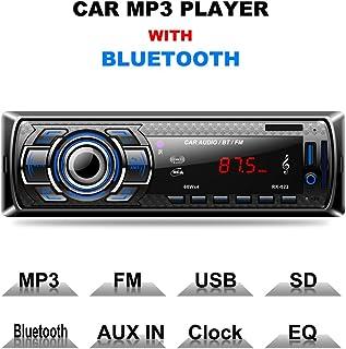 comprar comparacion Autoradio Bluetooth, CompraFun Manos Libres Radio Estéreo de Coche, Apoyo de Reproductor MP3, Llamadas Manos Libres, Funci...