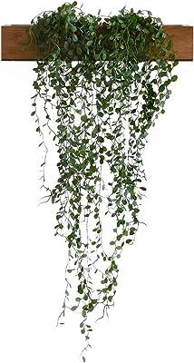 抗菌・消臭・防汚効果 人工観葉植物 エクリア コンテナ 【大】 ワイヤープランツ