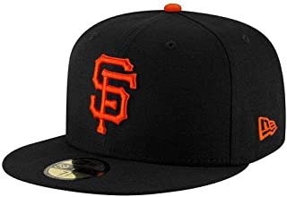 New Era 59FIFTY San Francisco Giants Black MLB 2017 Authentic Collection On Field Game Fitted Cap