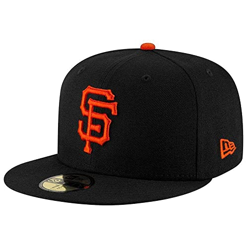 "New Era 39Thirty San Francisco Giants GAME /""Team Classic/"" Hat MLB Cap Black"