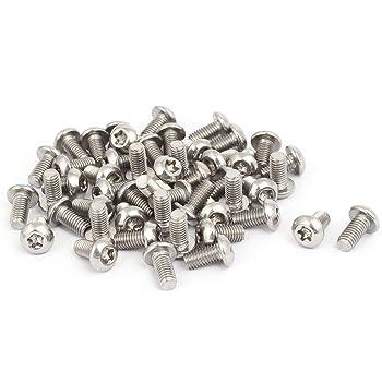 M5x30mm enti/èrement acier inox 304 Cinq lobe t/ête Filetage 5PCS vis Torx