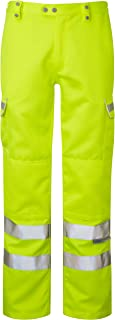 Pulsar P346 High Visibility Yellow Combat Work Trousers